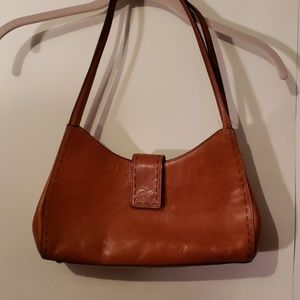 Vintage Fossil Tan Handbag